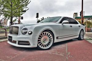 Bentley Mulsanne Speed on Forgiato Wheels (Calibro) 2017 года