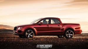 Bentley Bentayga Pickup by X-Tomi Design