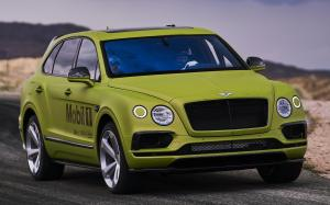 Bentley Bentayga Pikes Peak Race Car