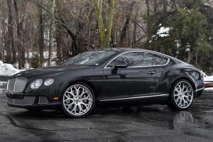 Bentley Continantal GT on Forgiato Wheels (DREA) 2018 года
