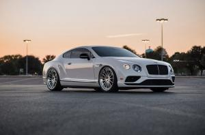 2018 Bentley Continental GT V8 S by EVS Motors on ADV.1 Wheels (ADV05R M.V2 CS)