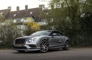 2018 Bentley Continental SuperSports by Manhart Racing