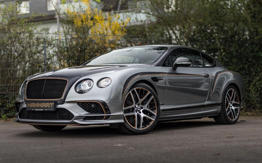 Bentley Continental SuperSports by Manhart Racing '2018