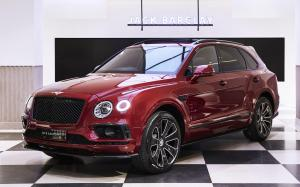 Bentley Bentayga Sportsman by Huntsman & Mulliner