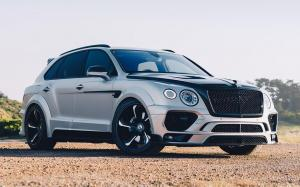 Bentley Bentayga by Mansory on Forgiato Wheels (S219-ECL)