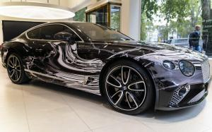 2019 Bentley Continental GT Art Car by Katrin Fridriks