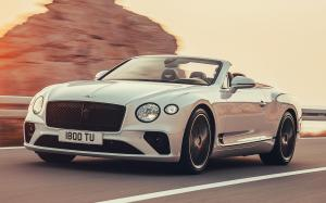 Bentley Continental GT Convertible 2019 года (WW)
