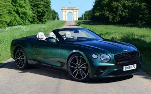 2019 Bentley Continental GT Convertible First Edition (UK)