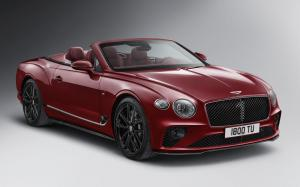 Bentley Continental GT Convertible Number 1 Edition by Mulliner 2019 года