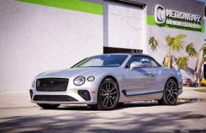 Bentley Continental GT Convertible by MetroWrapz 2019 года