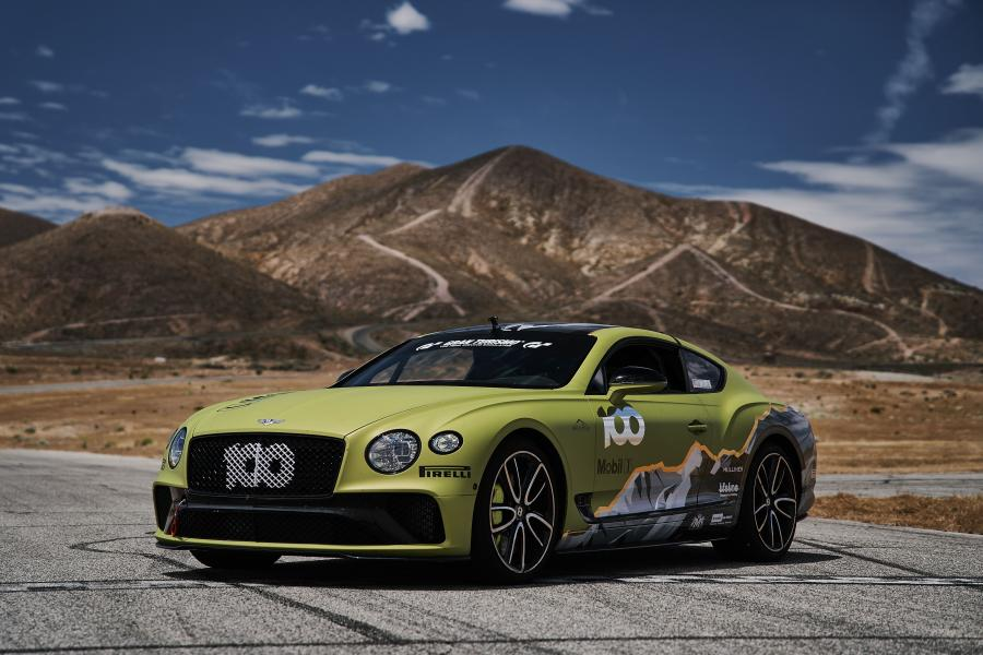 Bentley Continental GT Pikes Peak Race Car 2019 года