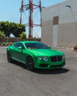 Bentley Continental GT by Impressive Wrap 2019 года