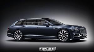 Bentley Flying Spur Station Wagon by X-Tomi Design 2019 года