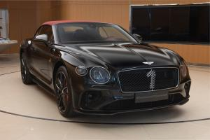 Bentley Continental GT Convertible Number 1 Edition by Mulliner 2020 года