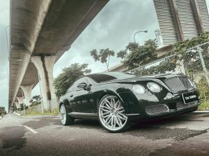 Bentley Continental GT on Premier Edition Wheels (CS10) 2020 года