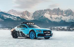 2020 Bentley Continental GT Ice Race