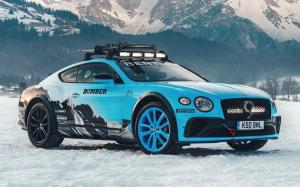 Bentley Continental GT Ice Race 2020 года