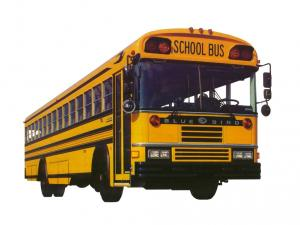 Blue Bird All American RE School Bus 1989 года