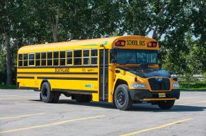 2013 Blue Bird Vision Propane School Bus