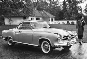 Borgward Isabella Coupe 1958 года