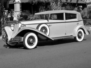 Brewster Convertible Sedan 1934 года