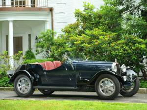 Bugatti Type 43 Sports Four Seater 1930 года