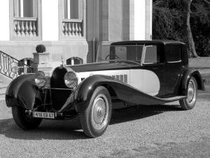 Bugatti Type 41 Royale Coupe de Ville by Binder