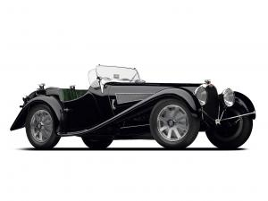 Bugatti Type 54 Grand Prix Cabriolet by Uhlik