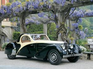 1936 Bugatti Type 57 Atalante Roll-Back Coupe