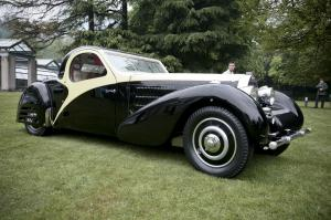 1936 Bugatti Type 57C Atalante Roll Back