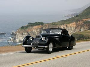 1937 Bugatti Type 57C Voll and Ruhrbeck Cabriolet