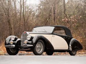 1939 Bugatti Type 57C Drophead Coupe by Letourneur and Marchand
