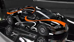 Bugatti Veyron 16.4 Super Sport by Sticker City 2015 года
