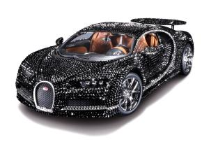 Bugatti Chiron Scale Model by Bburago 2019 года