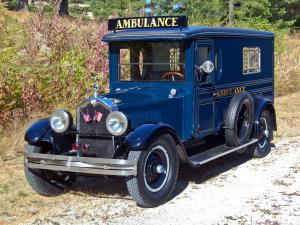 Buick Ambulance by Hoover Carriage Company 1926 года