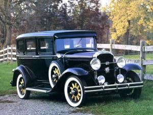 1931 Buick Series 50 4-Door Sedan
