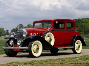 Buick Series 80 Victoria Coupe 1932 года