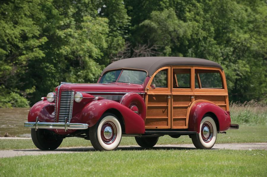 1938 Buick Century Estate Wagon by Wildanger