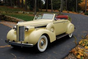 Buick Special Convertible Coupe 1938 года