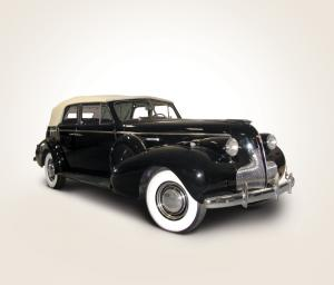 Buick Roadmaster 6-Passenger Convertible Sedan 1939 года