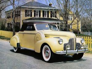 1940 Buick Special Convertible Coupe