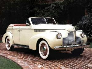 Buick Special Convertible Phaeton 1940 года
