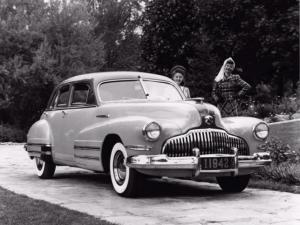 Buick Roadmaster Touring Sedan 1942 года
