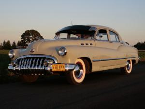 Buick Super Touring Sedan 1950 года