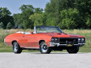 Buick GS 455 Stage 1 Convertible 1972 года