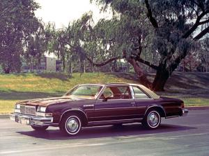 Buick LeSabre Custom Coupe 1977 года