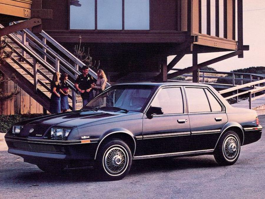 1983 Buick Skyhawk Custom Sedan