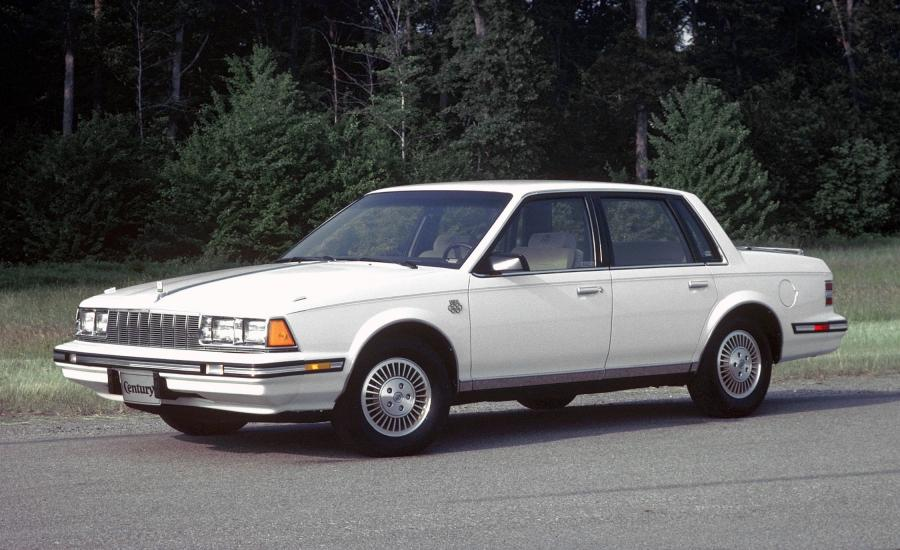1984 Buick Century Limited Olympic Edition 4-Door Sedan