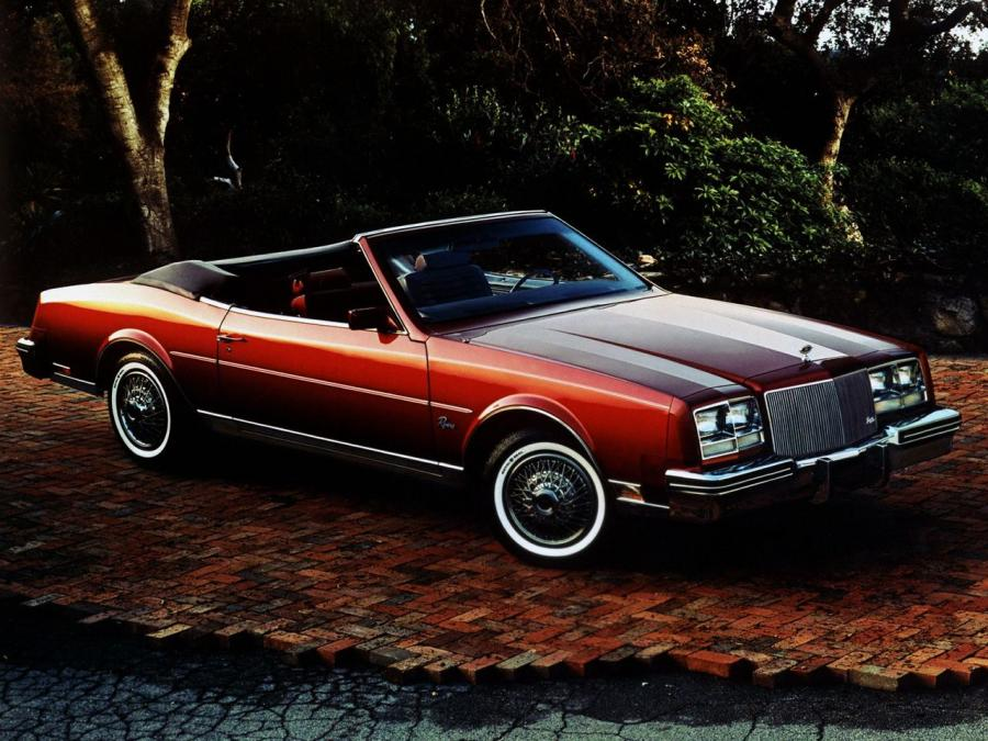 Buick Riviera Convertible (Z67) '1984