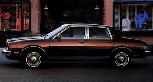 1985 Buick Skylark Limited 4-Door Sedan